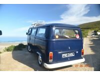 Volkswagen Bay Window Camper 1972