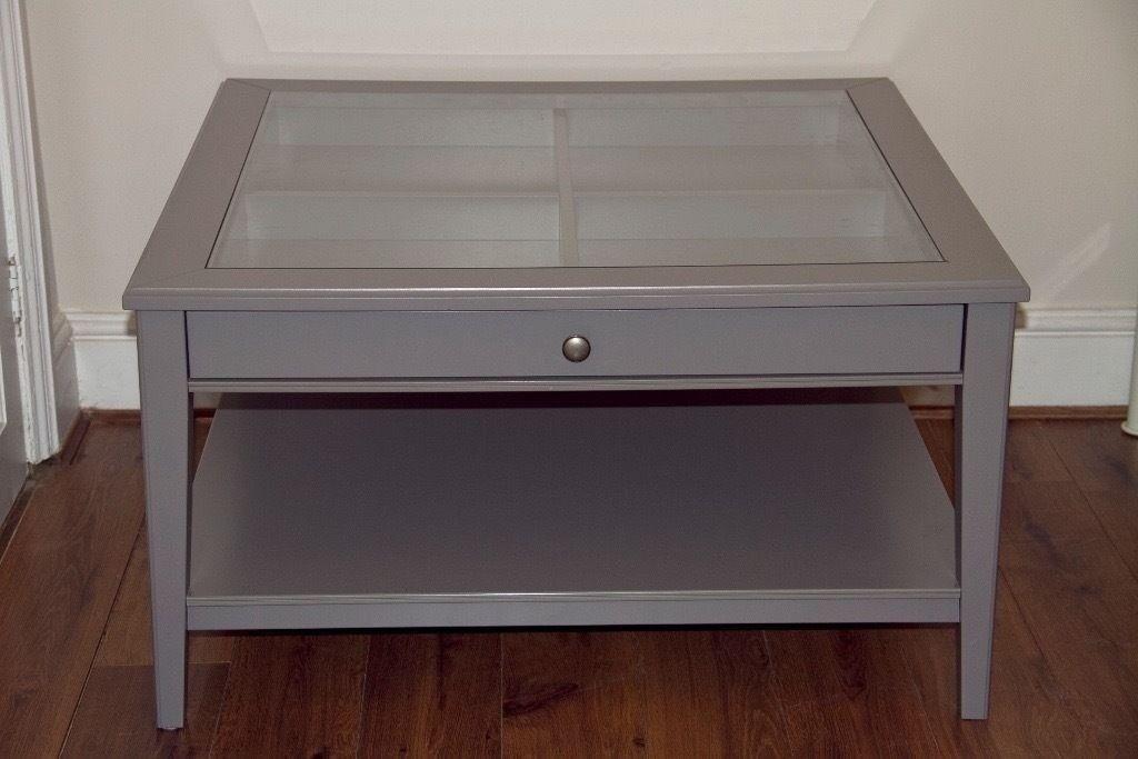 Ikea Liatorp Coffee Table Grey Rascalartsnyc