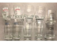 5 Pairs of Branded Drinking Glasses