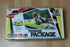 New JOBE THUNDER PACKAGE 1 Person Towable/ Inflatable Tube Toy Ringo Donut