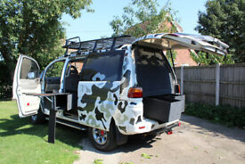 L400 Mitsubishi Delica SUPER EXCEED CRYSTAL LIGHT ROOF AUTO 4WD