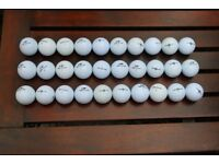 30 used Top Flite golf balls