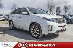2014 Kia Sorento SX|NAVI|LEATHER| ROOF|BACK UP CAM|ALLOYS