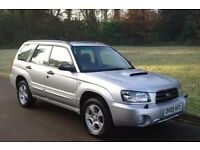 2005 Subaru Forester 2.0XT Turbo.. All Wheel Drive.. 1 Lady Owner. FSH.. Low Miles.. Superb Example.