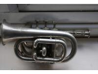 Cornet / Pocket Trumpet in Silver