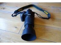 Nikon D3100 SLR, 18-55mm Lens, 55-200mm Lens PLUS Accessories