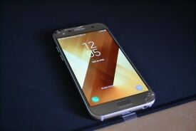 Samsung Galaxy A3 2017 - Gold - 16GB - Cracked Screen Glass - 17 Months Warranty