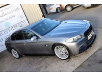 LATE 2012 BMW 520D MSPORT AUTO 181BHP SALOON *M PERFORMANCE STYLING* ( FINANCE & WARRANTY)