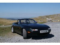 Mazda MX5 Mk1 BBR Turbo, sensible upgrades, import, 1992, low mileage