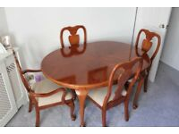 Dining Table & 6 Chairs for sale