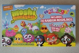 Brand new Moshi Monsters series 1 collection box