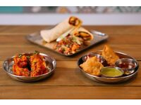 CHEFS/ KITCHEN ASSISTANTS ALL LEVELS for popular Indian Street Food Restaurant - Immediate Start