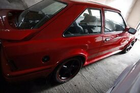 1991 FORD ESCORT XR3i FULL RESTORE FROM TOP TO BOTTOM IN IMACULUTE CONDITION ONE OFF CAR
