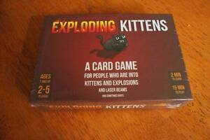 Exploding Kittens ==Original & First Expansion!== Yokine Stirling Area Preview
