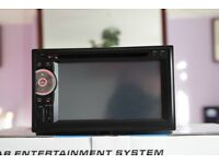 Universal Double Din Car Dvd Bluetooth Hands-Free Touch Screen Full HD 1080p Dvd/cd/Aux/usb