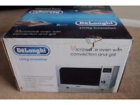 De longhi microwave oven with convection and grill