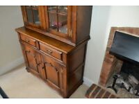 Beautiful Solid Dark Oak Dresser - Used In Excellent Condition