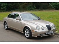 2002 Jaguar S Type 3.0 V6 SE.. Auto. Demo + 1 Owner.. Low Miles.. FSH.. Stunning Cherished Example..
