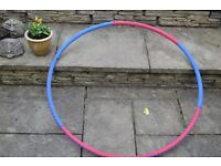 HULA HOOP WEIGHTED KEEP FIT WEIGHT LOSS EXERCISE