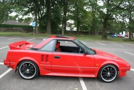 1987 TOYOTA MR2 MK1 1.6 AW11 - 67K MILES- ONLY 2 PREVIOUS OWNERS