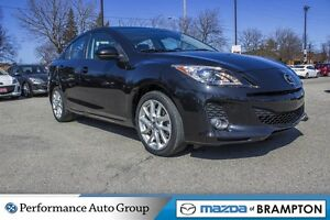 2013 Mazda MAZDA3 GT|SUNROOF|NAVI|HEATED SEATS|LEATHER