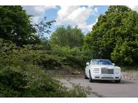 White Rolls Royce Phantom Drophead Series 2