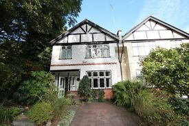 Four Bedroom Semi-Detached House With Off-Street Parking And A Large Garden Near Highgate Station