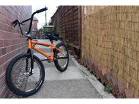 Custom BMX With Profile Elite Hubs Spare Parts Tools Protective Gear Included