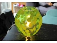 Glass Lamp In Good Working Order
