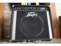 Peavey Encore 65 All-Tube Guitar Amp 1983 with JJ Cryo tubes, spare set and Footswitch
