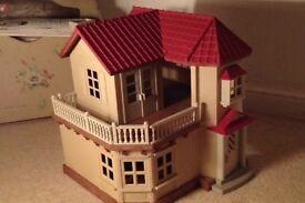 Sylvanian Family house from smoke free home