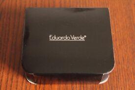 NEW Eduardo Verde 6x Necklace Pendant & Earring Presentation Set Box Gold Silver