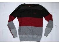 New Black, Red and Grey Element Skater Jumper