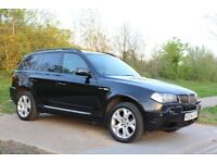 2004 BMW X3 3.0 i Sport 5dr SAT- NAV, AUTO, PAN ROOF, LEATHERS, 3M WARRANTY, PX WELCOME