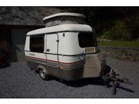 ERIBA PUCK 89' CARAVAN. Beautiful little caravan, in the family since New
