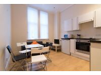 Fully furnished 1 bed ground floor flat available May 2nd £425pcm, secure entry