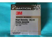 3.5 Inch floppy disks (Box of 10 - Unopened) 8 boxes available.