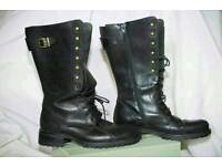 beautiful retro boots in perfect condition