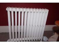 Victorian cast iron 4 column radiator