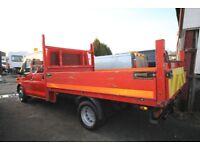 FORD TRANSIT 100 T-350 LWB DOUBLE CAB DROPSIDE – 58-REG