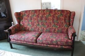 3 Seater Ercol high backed Sofa