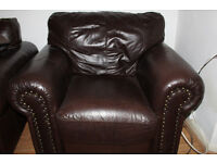 Free to collect leather armchair