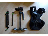 Flycam 5000 Camera Steadycam with Comfort Arm and Vest + QUICK RELEASE + CARRYBAG - 5D 7D