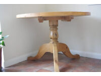 Sturdy Pine Dinning Table