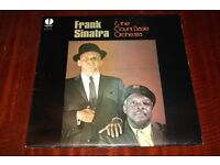 Frank Sinatra & The Count Basie Orchestra 1963 LP Vinyl Record