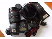 CANON EOS DSLR 5D MARK II and CANON 24-70mm F2.8 L USM lens
