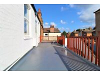 FANTASTIC 2 DOUBLE BEDROOM FLAT WITH ROOF TERRACE BY ZONE 3 NIGHT TUBE, 24 HOUR BUSES & HIGH ROAD