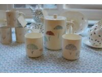 Petal Teapot and Mugs