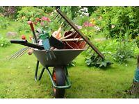 Garden/ clean requires looking for work