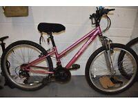 "bicycle girls apollo vivid. 24"" wheel at £30 Suit 7 - 12 yr old."